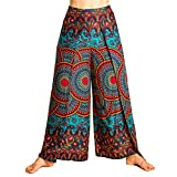 PANASIAM Sunshine Pants Two in Turkis-Blue