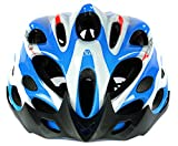 #6: Cockatoo Professional Multi-Colour Cycling Helmet, Skating Helmet (SkyBlue:White, Large)