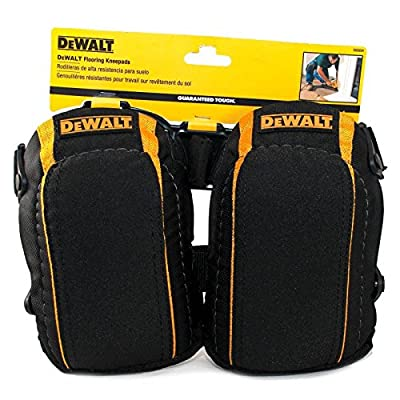 DeWalt Flooring Kneepads / Knee Pads Guaranteed Tough High Density Closed- Cell Foam - low-cost UK light shop.