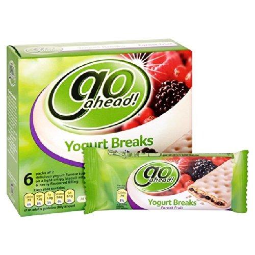 McVitie's Go Ahead Forest Fruit Yogurt Breaks 6 x 35.5g
