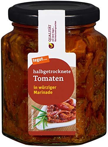 Tegut Halbgetrocknete Tomaten, 260 g