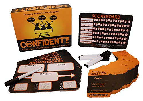 CONFIDENT? Party Board Game - The New Family Favourite!