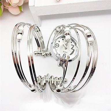Fenkoo Mode-Ring geformt Legierung Metallarmband warch (weiß, lila, blau, rosa) (1pc)