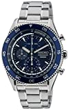 Seiko Men's Quartz Watch with Chronograph Quartz Stainless Steel SNDG55P1