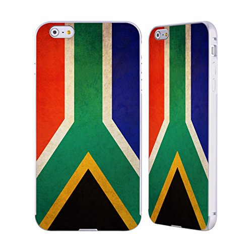 Head Case Designs Mexique Mexicain Drapeaux Vintage Argent Étui Coque Aluminium Bumper Slider pour Apple iPhone 5 / 5s / SE Afrique Du Sud Sud-Africain