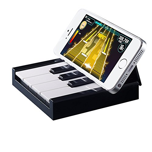 Ozaki OR302BK O!Arcade TAPiano Bluetooth Klavier-Spiel für Apple iPhone 5/5S/5C/SE/6/6S/6Plus/6S Plus, iPad Air/Air 2/mini/mini 2/mini 3, iPod Touch 5G schwarz (Kostenlose Iphone Spiele-apps)