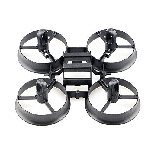 GEEDIAR® Original JJRC H36 Drohne Ersatzteile Propeller Stützen mit Rahmen für JJRC H36 Eachine E010 und Blade Inductrix Micro Drone - 5