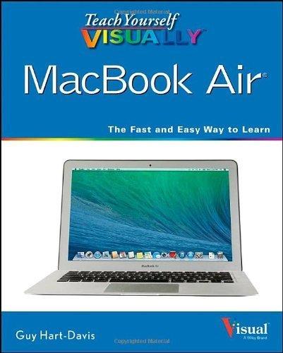 Preisvergleich Produktbild Teach Yourself Visually MacBook Air (Teach Yourself VISUALLY (Tech)) by Guy Hart-Davis (2014-01-17)