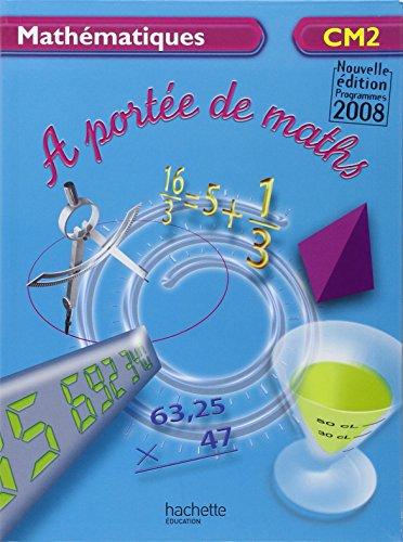 Pdf t l charger math matiques cm2 a port e de maths for A portee de maths cm2