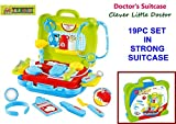 TOY-STATION - DOCTOR DREAM SUITCASE SET - 19 PC SET (BLUE)