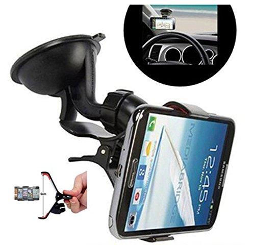 VOLTAC Universal Car Mount Cradle Mobile Holder for Smart Phones & GPS Device Model 445223