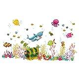 ElecMotive Mer Autocollants Muraux Mural Stickers Chambre Enfants Bébé Garderie Salon