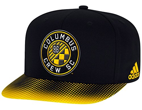 Columbus Crew Adidas MLS Sublimated Dot Embroidered Snap Back Hat Hut (Columbus Crew Hat)