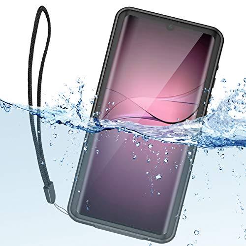 "Funda Impermeable Huawei P30 Pro, ShellBox Militar Anticaidas Caso 360 Grados Antigolpes Carcasa Protectora Anti-arañazos Resistente al Agua Case para Huawei P30 Pro 6.47"", Negro"