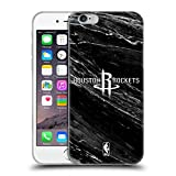 Offizielle NBA S&W Marmor Houston Rockets Soft Gel Hülle für Apple iPhone 6 / 6s