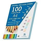 Dohe 30193 Ramette de 100feuilles de papier Bleu pastel A4 80g