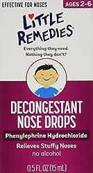 Little Remedies Little Noses Decogestant Drops - 0.5 oz