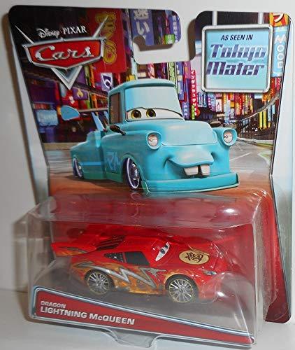 4bffac9654487 MATTEL Disney PIXAR CARS TOON Tokyo Mater DRAGON LIGHTNING McQUEEN Mattel  Cars