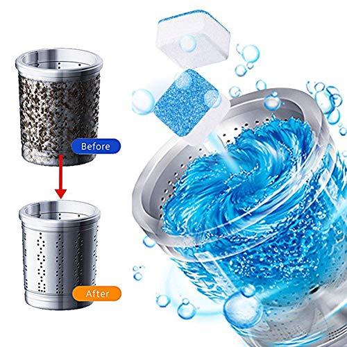 5 pezzi lavatrice concentrata compresse effervescenti detergente rimozione detergente deodorante auto rondella di vetro strumenti per la pulizia della cas