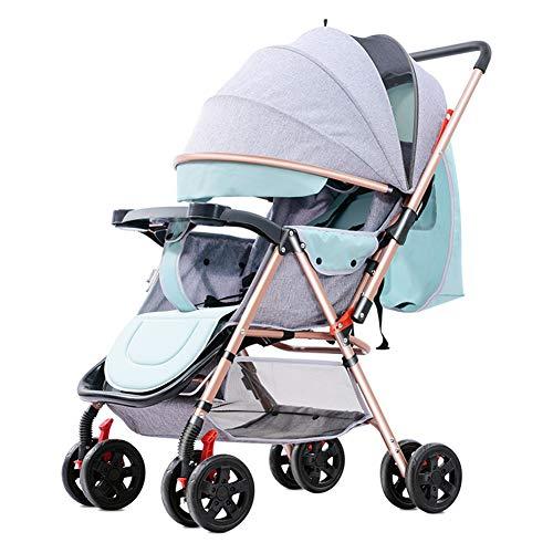 GXGX Silla Paseo Bebe Ligera - Compacta Cochecito Viaje Avión - Carritos de Bebe Plegable - 6-36 Meses