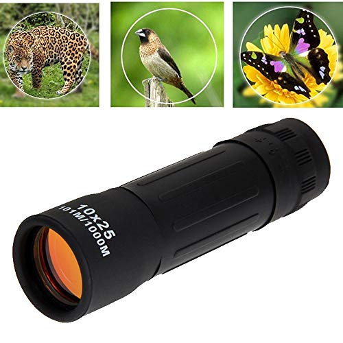 OHQ 10X25 Portable Monocylindre Miroitement Vision Nocturne HD...