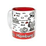 Sheepworld 61038 Tasse Ohne Hamburg ist alles doof, Steingut, 30 cl