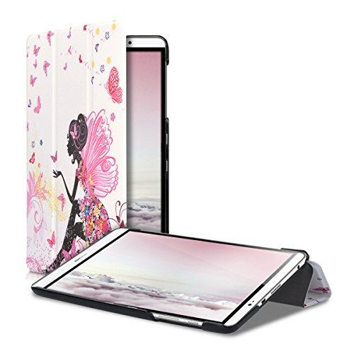kwmobile Huawei MediaPad M2 8.0 Hülle - Smart Cover Tablet Case Schutzhülle für Huawei MediaPad M2 8.0