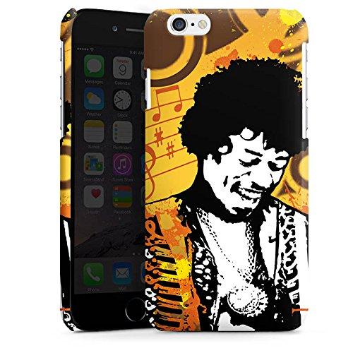 Apple iPhone 4 Housse Étui Silicone Coque Protection Musique Jimi Hendrix Guitare Cas Premium brillant