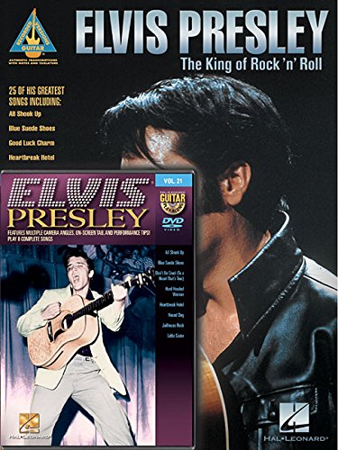 Elvis presley guitar pack guitare+DVD (Recorded Versions - Guitar Play-Along)