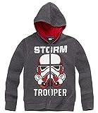 Star Wars-The Clone Wars Darth Vader Jedi Yoda Garçon Sweat zippé - gris - 8 ans