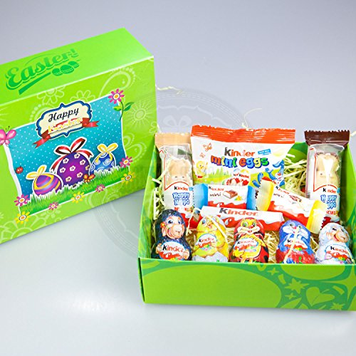 Chocolate easter gifts amazon kinder chocolate easter treasure gift box negle Gallery