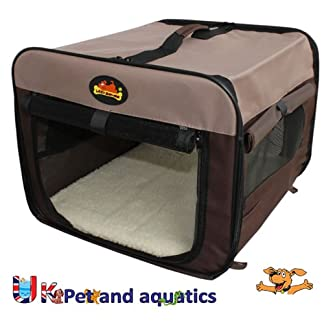 Canvas Dog, Cat Carrier 18″ 51V 2BQLvIFOL
