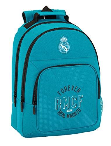 Mochila Escolar Adaptable Real Madrid Safta
