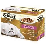 Gourmet Gold Doble Placer Comida Para Gato, Húmedo - 680 gr