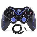 Artion Nero Bluetooth senza fili Controller di gioco per Playstation 3 Sostituzione per PS3 Controller