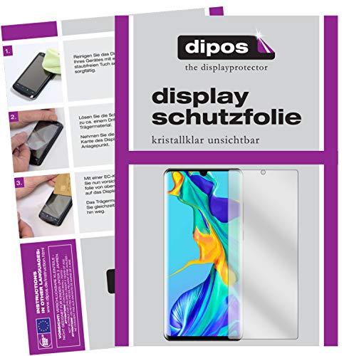 Dipos I 6X Schutzfolie für Huawei P30 PRO Kristallschutzfolie (3X Front + 3X Rear)