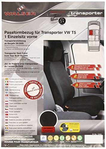 Preisvergleich Produktbild Walser 10463 Volkswagen T5 Transporter Autositzbezüge für Einzelsitz vorne