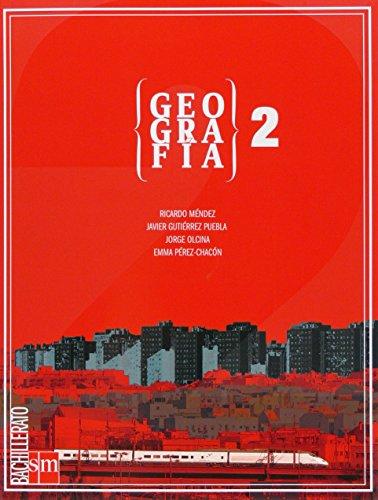 Geografía. 2 Bachillerato - 9788467534825 por Ricardo Méndez Gutiérrez del Valle