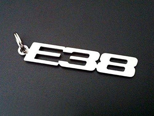 E34 embl/ème porte-cl/és en acier inoxydable de haute qualit/é m5 540I 535I 530I 525ix 525i 520i 524TD 525TD