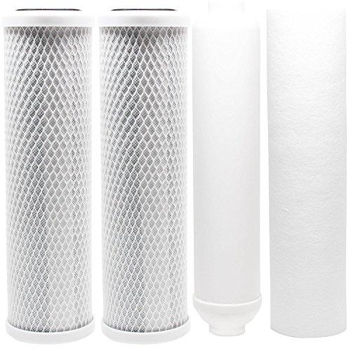 Ersatz Filter Kit für Watt ro-tfm-5sv RO System-inkl. Carbon Block Filter, Sediment Filter & Inline Filter-Kartusche von CFS