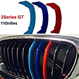 Per B M W Series 3 GT 11 grill m Power m sport Tech Bonnet Hood Rene griglia Trim fibbia clip in Stripe Stripes copertura decorazione