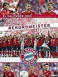 FC Bayern Kalender 2019 - Posterkalender, Fußballkalender, Fankalender 2019 - 48 x 64 cm
