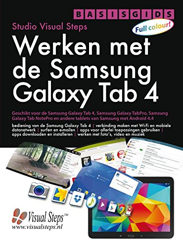 4 (Basisgids werken met de Samsung Galaxy Tab) por Studio Visual Steps