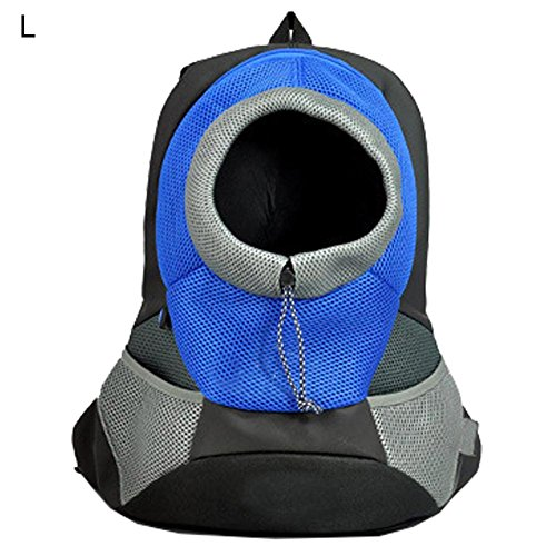 Hunde Rucksack verstellbar Haustier Katze Tasche Tragetasche Hundetasche Hundetragetasche für Outdoor, Reise, Camping, Wandern