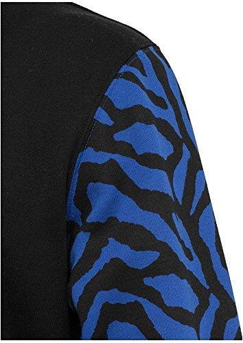 TB505 2-tone Zebra College Jacket Herren Jacke - 5