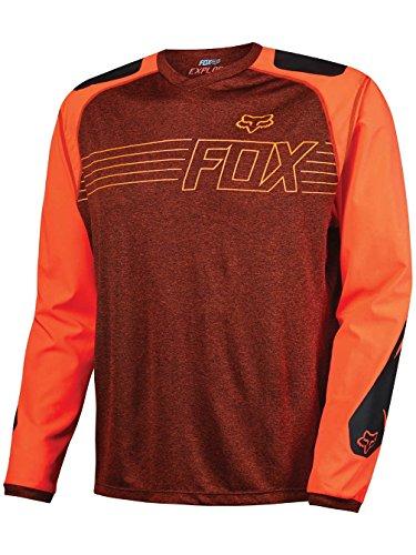 Fox Langarm-Jersey Explore Rot Gr. L (Fox Langarm-trikot Racing)