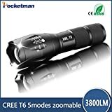 Best Tactical Led Flashlights - Generic E17 Cree LED Flashlight 3800 Lumen Tactical Review