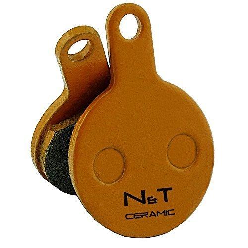 Noah and Theo nt-bp014/CR in ceramica Freno a disco PASTIGLIE adatte a Tektro Novela E md-m311. Anche Compatibile con cuscinetti MODELLI iox.11