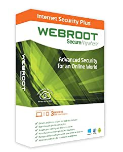 Webroot SecureAnywhere Internet Security Plus 1 Device [import anglais]