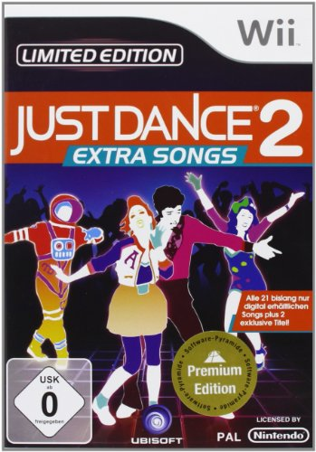 Just Dance 2 - Extra Songs [Software Pyramide] (Nintendo 2 Wii Just Dance)